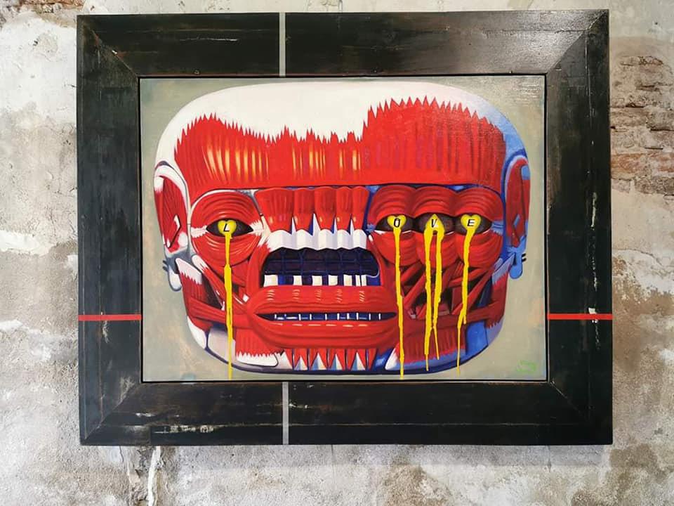 ผลงานของ สุวิทย์ มาประจวบ Young Thai Artist