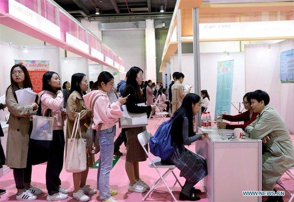 จีนเดินหน้าเต็มพิกัด ช่วยบัณฑิตจบใหม่ 8.74 ล้านคนหางาน (แฟ้มภาพซินหวา สื่อทางการจีน)