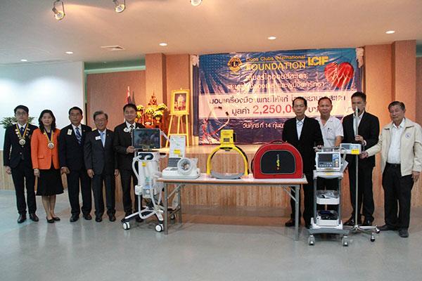 โรงพยาบาลสะเดา จ.สงขลา รับมอบอุปกรณ์ทางการแพทย์ มูลค่ากว่า 2 ล้านบาท