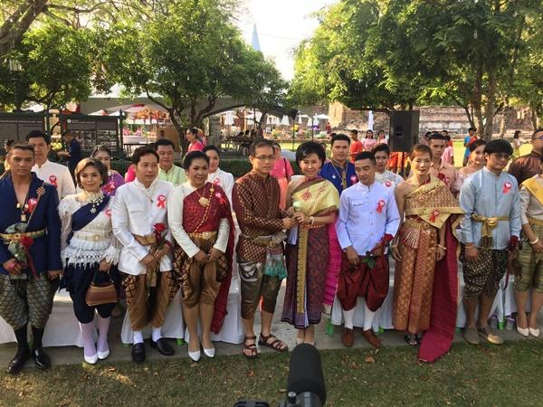เมืองลพบุรีจัดขบวนขันหมากอย่างยิ่งใหญ่ พร้อมจัดวิวาห์แต่งไทยย้อนยุค