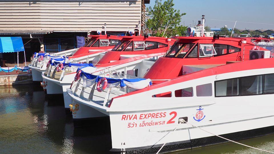 """คนกรุงเตรียมเฮ! """"เรือด่วนเจ้าพระยา"""" ต่อเรือใหม่ """"ริว่า เอ็กซ์เพรส"""" ชูธงแดงวิ่งฉิวถึงอยุธยา"""
