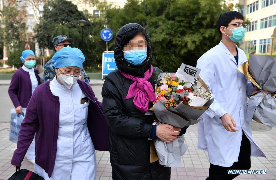 """ผู้ป่วย """"โควิด-19"""" ในจีน หายดี-ออกจากรพ. แตะ 10,844 ราย"""