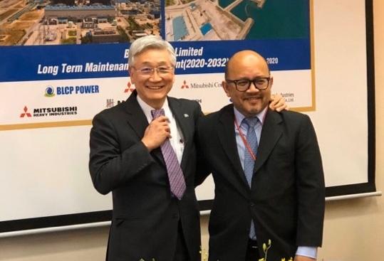 โรงไฟฟ้าบีแอลซีพีลงนามในสัญญาการบำรุงรักษาโรงไฟฟ้ากับกลุ่มบริษัทมิตซูบิชิเป็นเวลา 12 ปี