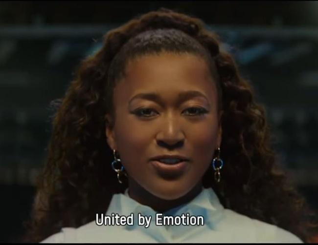 """ทุกอารมณ์รวมเป็นหนึ่ง """"โอซากะ"""" นำทีมเปิดตัวสโลแกน """"โอลิมปิก 2020"""""""