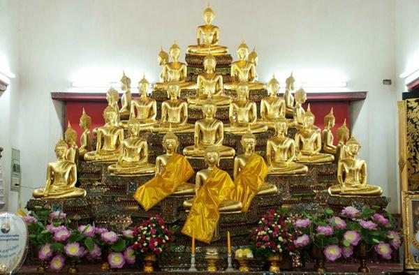 หนึ่งเดียวในสยาม! วัดที่มีพระพุทธเจ้าครบทั้ง ๒๘ พระองค์เป็นพระประธานในโบสถ์!!