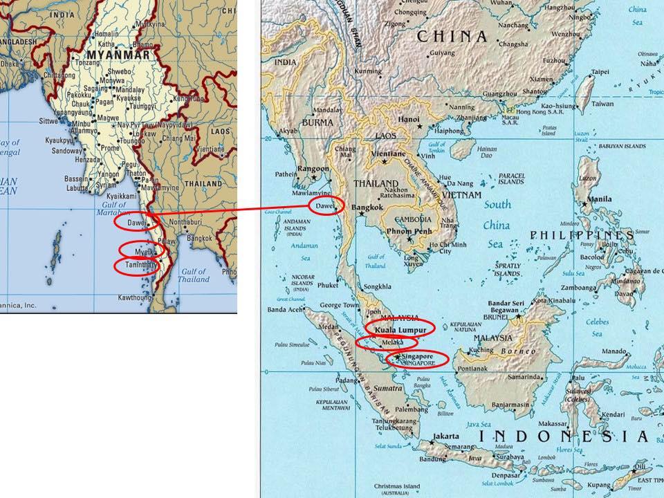 มองมะลักกา เห็นยุทธศาสตร์ทางทะเลของสยามและไทย
