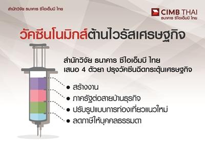 CIMBTปรับลดเป้าจีดีพีโต1.7%-แนะ4แนวทางเลี่ยงวิกฤติ
