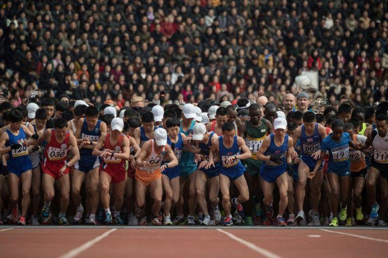 """เกาหลีเหนือยกเลิก """"งานวิ่งมาราธอนประจำปี"""" เลี่ยงไวรัสระบาด"""