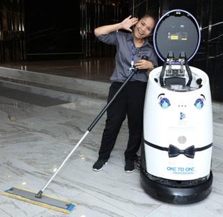 วันทูวันเปิดตัวหุ่นยนต์ทำความสะอาดลดความเสี่ยงติดโควิด19