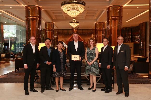 โรงแรมแบงค็อก แมริออท มาร์คีส์ ควีนส์ปาร์ค รั้งอันดับ 1 ในธุรกิจ MICE คว้ารางวัลใหญ่จาก ASEAN Tourism Awards