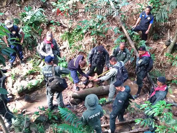ชาวบ้านเบตงแจ้ง จนท.หลังพบลูกระเบิดอากาศ คาดเป็นของสมัยสู้รบกับโจรจีนคอมมิวนิสต์