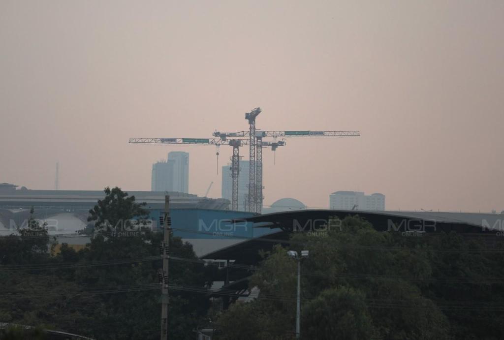 กทม.-ปริมณฑล ฝุ่นพิษ PM 2.5 เกินมาตรฐาน 55 จุด กระทบต่อสุขภาพ แนะลดกิจกรรมกลางแจ้ง