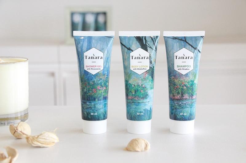 Tanara set ผลิตภัณฑ์สารสกัดจากข้าว