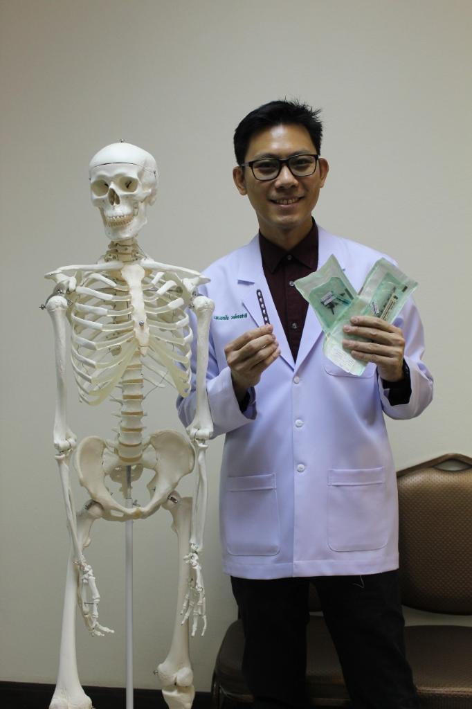 โชว์ความสำเร็จสกรู-แผ่นดามกระดูกจากงานวิจัยไทย