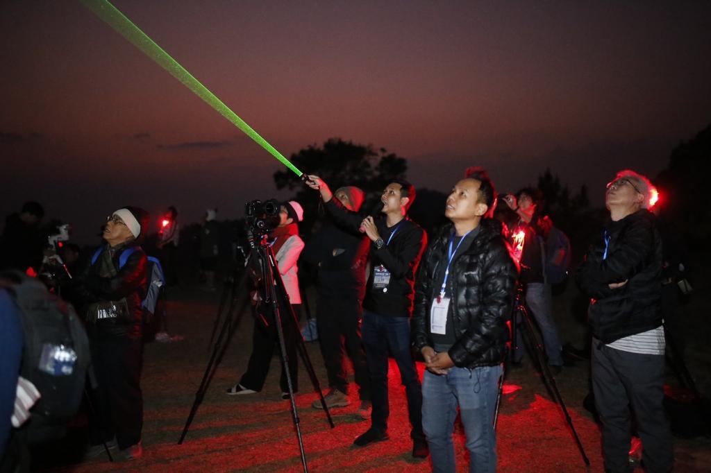 ครั้งแรกในไทยจัดถ่ายภาพดาราศาสตร์ ณ อช.ห้วยน้ำดัง พื้นที่อนุรักษ์ท้องฟ้ามืด