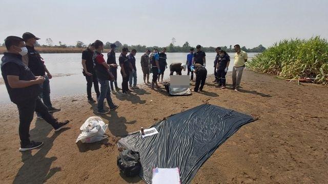 สุดสยอง!พบศพชายนิรนามถูกฆ่ายัดกระเป๋าลอยติดเกาะกลางน้ำปิง