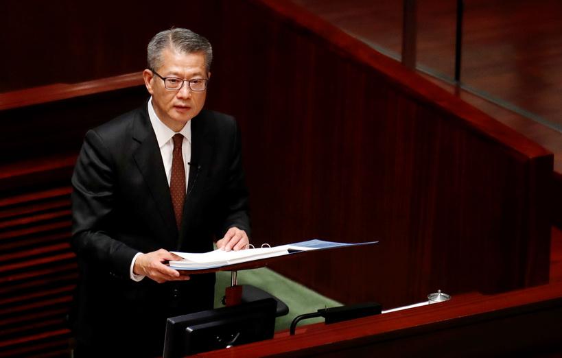 พอล ชาน รัฐมนตรีกระทรวงการคลังฮ่องกง