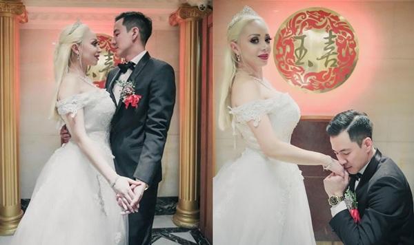 """สละโสดอีกคู่!! """"ฮาเวิร์ด หวัง"""" ควงแฟนสาวฝรั่ง เข้าพิธีแต่งงานแล้ว"""