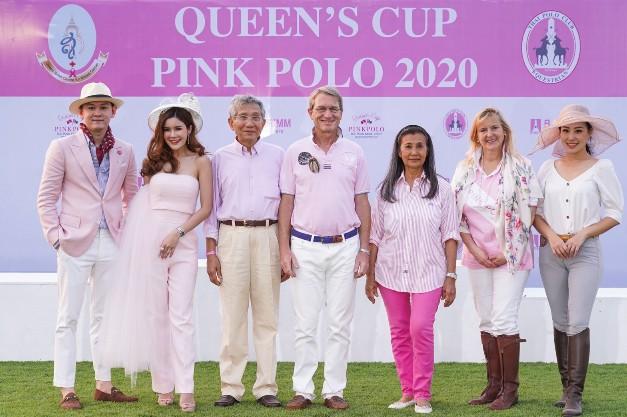 """เปิดฉากสุดยิ่งใหญ่ การแข่งขันขี่ม้าโปโลหญิงการกุศล """"ควีนส์คัพ พิงค์ โปโล 2020"""" ชิงถ้วยพระราชทาน สมเด็จพระนางเจ้าสิริกิติ์ พระบรมราชินีนาถ พระบรมราชชนนีพันปีหลวง"""