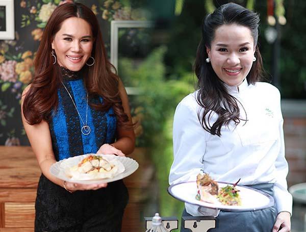 """""""นก ชลิดา"""" แถลงจับมือ Healthy Tasty กับ Health Society เปิดบริการเดลิเวอรี่อาหารไทยแพลนต์เบสต์ต้านอักเสบ"""