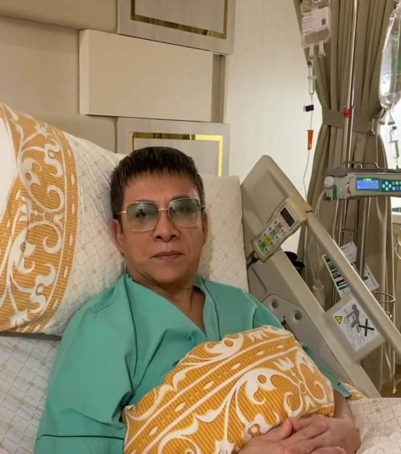 """""""พี่แดง-สมศักดิ์ ชลาชล"""" เป็นหวัดน็อกจนต้องแอดมิดเข้าโรงพยาบาล!?"""