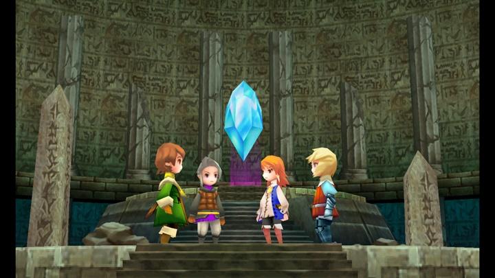 """""""Final Fantasy III"""" เพิ่มภาษาไทยบน PC-สมาร์ตโฟน"""