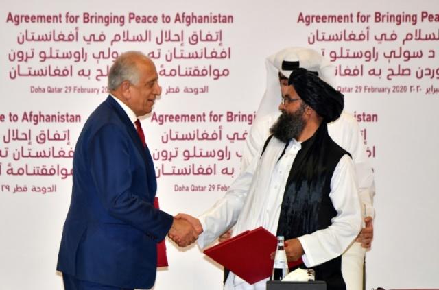 """""""สหรัฐฯ-ตอลิบาน"""" ลงนามข้อตกลงสันติภาพ มุ่งยุติสงครามในอัฟกัน"""
