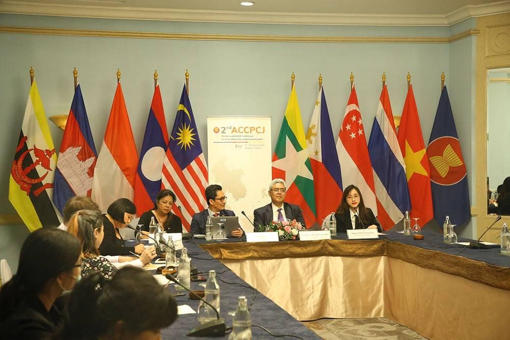 TIJ จัดประชุมอาเซียนด้านยุติธรรมอาญา ACCPCJ ครั้งที่ 2 เสริมวัฒนธรรมแห่งการป้องกัน สร้างนวัตกรรมแห่งความยุติธรรมเพื่อทุกคน