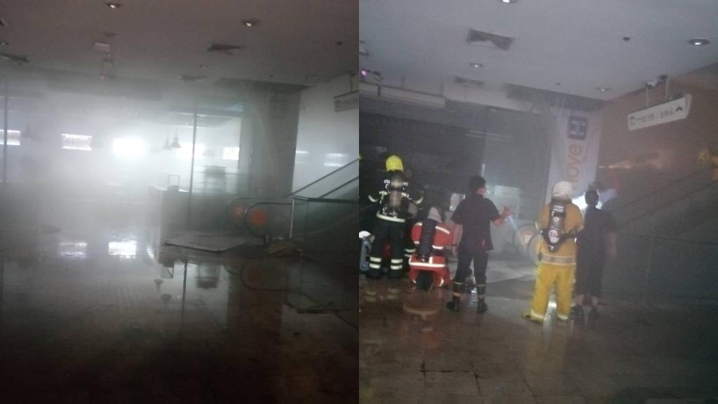 ไหม้รับอรุณ! ไฟไหม้ห้างฟอร์จูน พบต้นเพลิงร้านอาหารชั้น 4 จนท.เร่งควบคุม