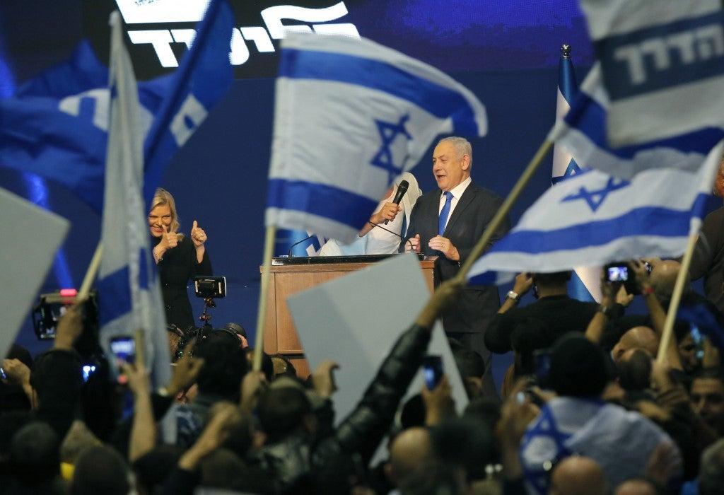 เนทันยาฮูประกาศชัยชนะเลือกตั้งยิว จ่อจับมือพันธมิตรตั้งรัฐบาลปริ่มน้ำ