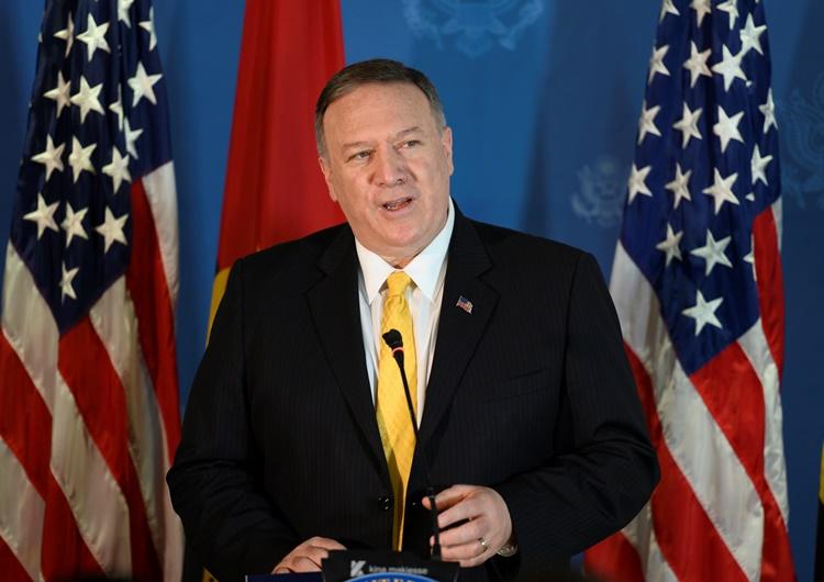 ไมค์ ปอมเปโอ รัฐมนตรีว่าการกระทรวงการต่างประเทศสหรัฐฯ