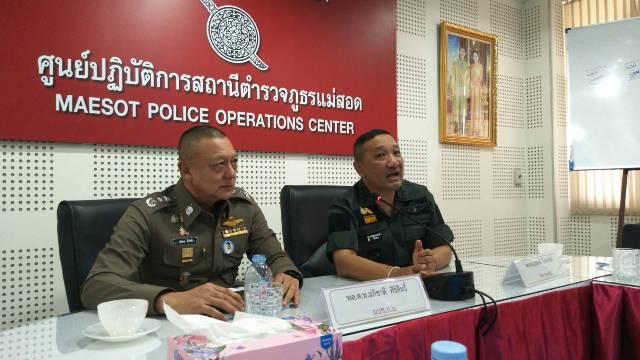 รอง ผบ.ตร.ประชุมชุดสืบคลี่ฆ่าหนุ่มจีนยัดกระเป๋าทิ้งน้ำปิง หลังพม่าจับ 2 ฆาตรกรได้