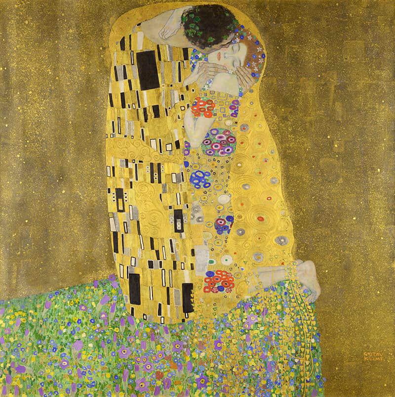 """The Kiss"" ภาพจูบบันลือโลกของคลิมต์"