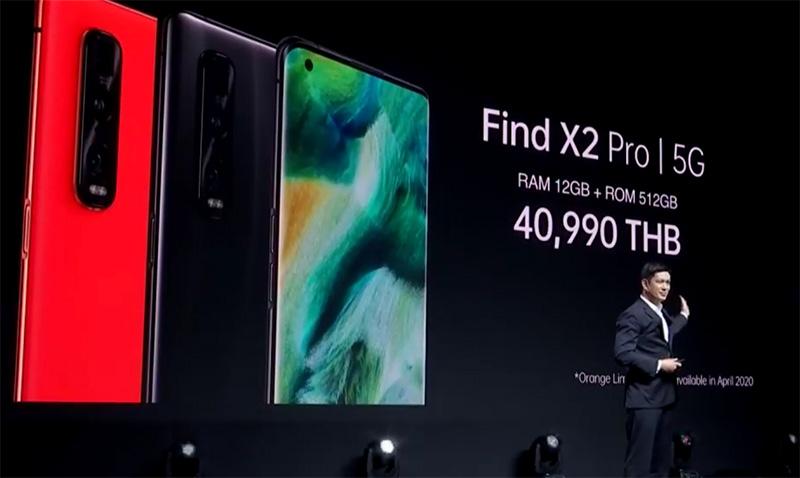 ออปโป้ บุกตลาดแฟลกชิปสมาร์ทโฟน 5G เปิดราคา 40,990 บาท
