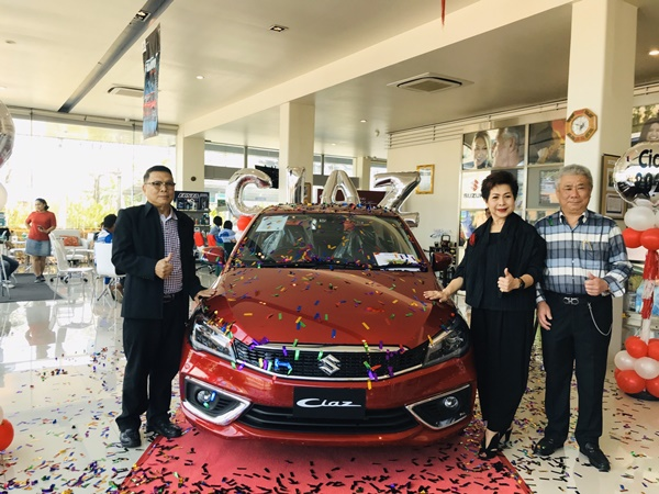 S.U.SUZUKI PHUKET เปิดตัวรถรุ่นใหม่  NEW SUZUKI CIAZ มั่นใจรถอีโคคาร์กลับมาคึกคัก