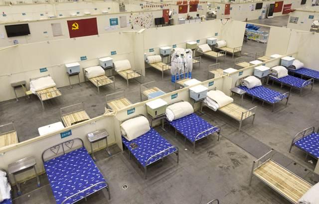 อู่ฮั่นปิด 'โรงพยาบาลชั่วคราว' ขนาด 2,000 เตียง หลังภาพรวมโควิด-19 ท้องถิ่นดีขึ้น