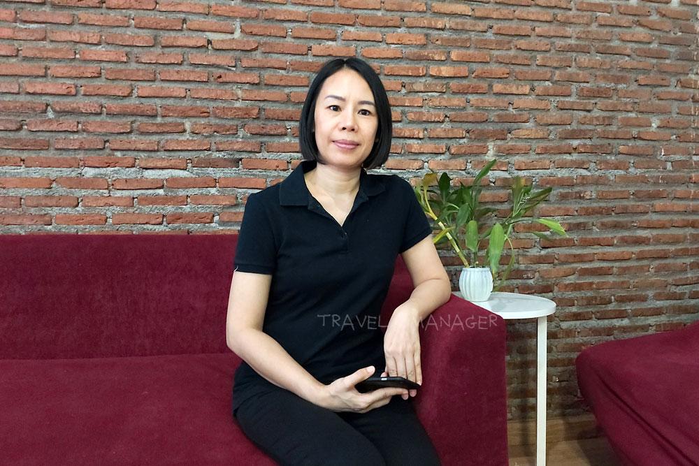 จารวี ติสันโต เจ้าของร้านจารวี นวดแผนไทย