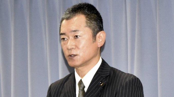 ฮิโรยูกิ โมโรตะ สมาชิกสภาท้องถิ่นจังหวัดชิซุโอะกะ (Photo - Kyodo)