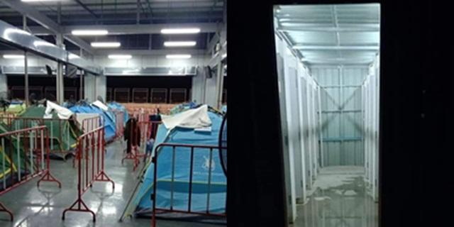 เผยภาพสถานที่กักตัว ผีน้อย จ.บุรีรัมย์ ใช้ห้องน้ำรวม เผยรอดจากประเทศเสี่ยงอาจมาติดเชื้อที่นี่