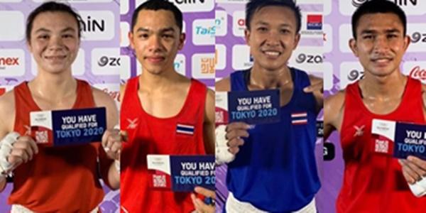บทสรุปกำปั้นไทย 4 รายซิวตั๋วโอลิมปิก 2020