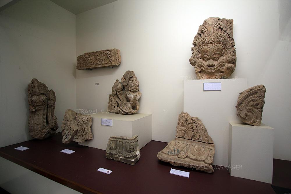โบราณวัตถุที่นำมาจัดแสดง