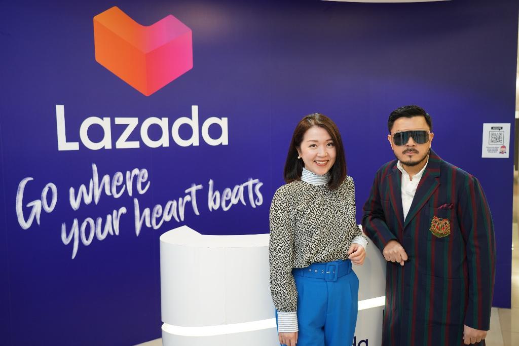 """สินค้าไทยดีไซน์เนอร์หรูลุยออนไลน์ ลาซาด้าควง """"หมู Asava"""" ปักธง Lazada Thai Designer Club"""