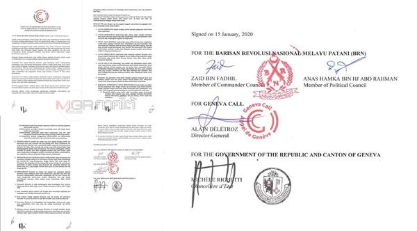 คำแถลงฉบับภาษามลายูและองค์กรนานาชาติร่วมลงนาม
