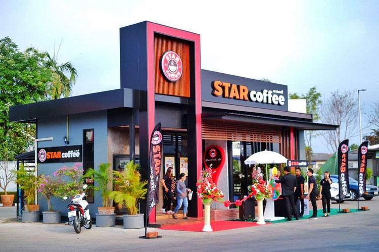 STAR coffee เปิดร้านกาแฟรักษ์โลกสาขาใหม่ที่ จ.นครสวรรค์