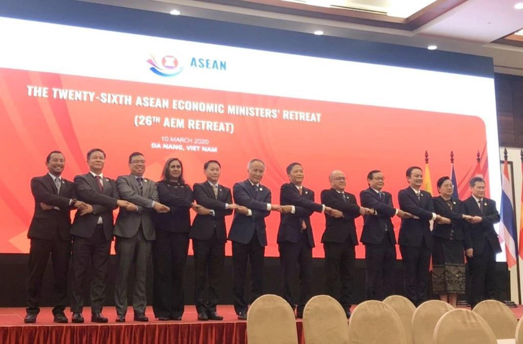 รัฐมนตรีเศรษฐกิจอาเซียนออกแถลงการณ์รับมือโควิด-19 ช่วยบรรเทาผลกระทบการค้า การลงทุน