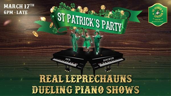 """ร้าน Drunken LePrechaun หาดป่าตอง จัดปาร์ตี้ฉลองเทศกาล""""St. Patrick """" เสริฟความสนุกไม่อั้น 17 มีนาคมนี้"""