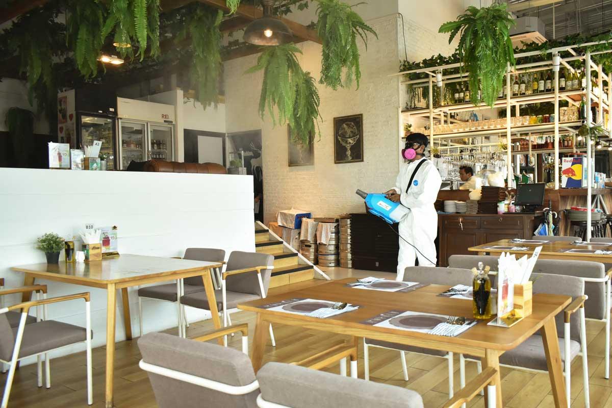 """""""ร้านอาหาร"""" ร่วมด้วย ช่วยกัน ป้องกันภัยโควิด-19 สร้างความมั่นใจให้แก่ลูกค้า"""