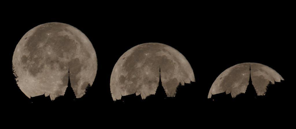 """8 เม.ย.เตรียมพร้อมถ่าย """"จันทร์เต็มดวง"""" ใกล้โลกที่สุดในรอบปี"""