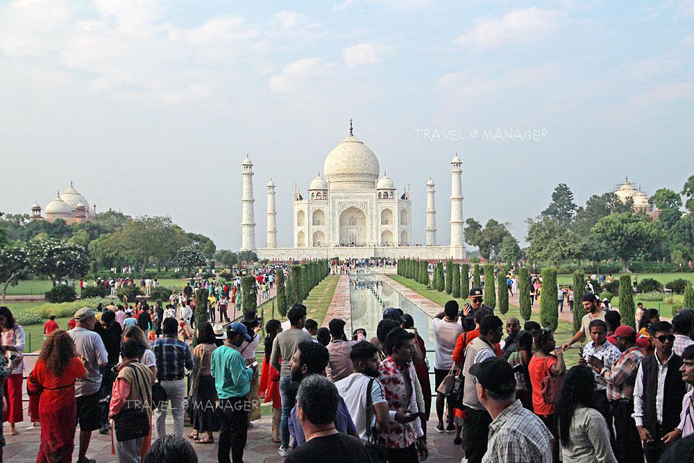ทัช มาฮาล หนึ่งในเจ็ดสิ่งมหัศจรรย์ของโลกยุคใหม่
