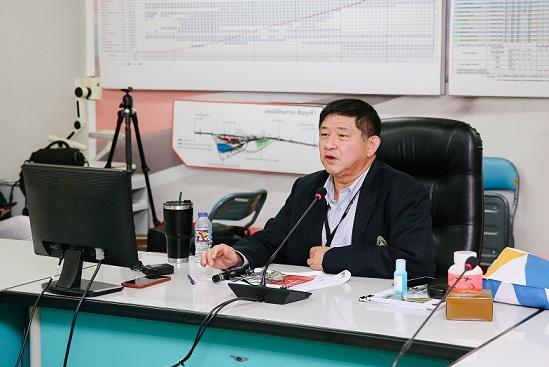 นายวรวุฒิ มาลา รองผู้ว่าการกลุ่มธุรกิจการบริหารทรัพย์สิน รักษาการในตำแหน่งผู้ว่าการการรถไฟแห่งประเทศไทย (ร.ฟ.ท.)
